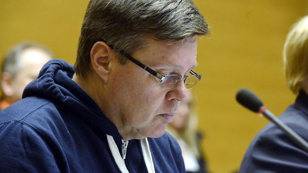 Helsingin huumepoliisin päällikkö Jari Aarnio Helsingin käräjäoikeudessa 15.11.2013. Lehtikuva - aarnio-jari
