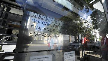 Suomen Venäjän suurlähetystö Moskovassa.