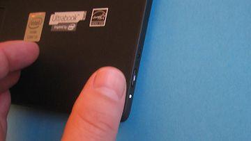 Lenovo Yoga 2 Pro, ultrabook, kannettava, läppäri, virtapainike