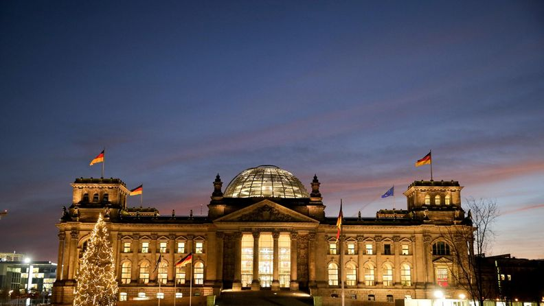 Saksan parlamenttitalo