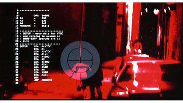 Tietokonekoodia Terminator-elokuvasta. Kuvakaappaus moviecode.tumblr.com -sivulta
