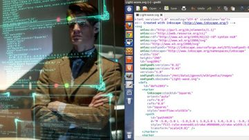 Tietokonekoodia Dr Who -sarjasta. Kuvakaappaus moviecode.tumblr.com -sivulta
