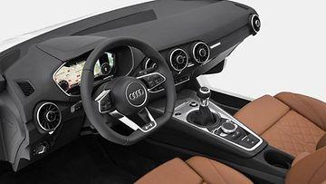 Uuden Audi TT:n virtuaalinen mittaristo