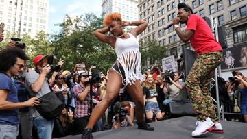 Big Freedia Twerking Event, 2013