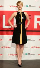 Jennifer Lawrence edusti Roomassa 14.11.2013.