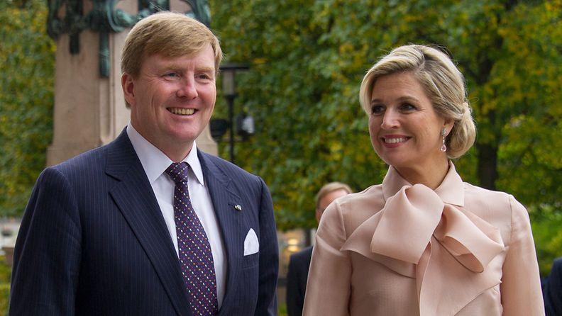 Kuningas Willem-Alexander ja kuningatar Maxima