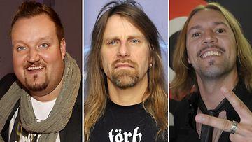 Sami Hedberg, Jone Nikula ja H-P Parviainen nähdään viiksivideolla.
