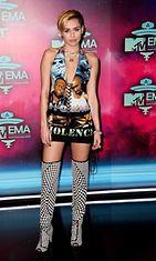 Miley Cyrus MTV-gaalassa.