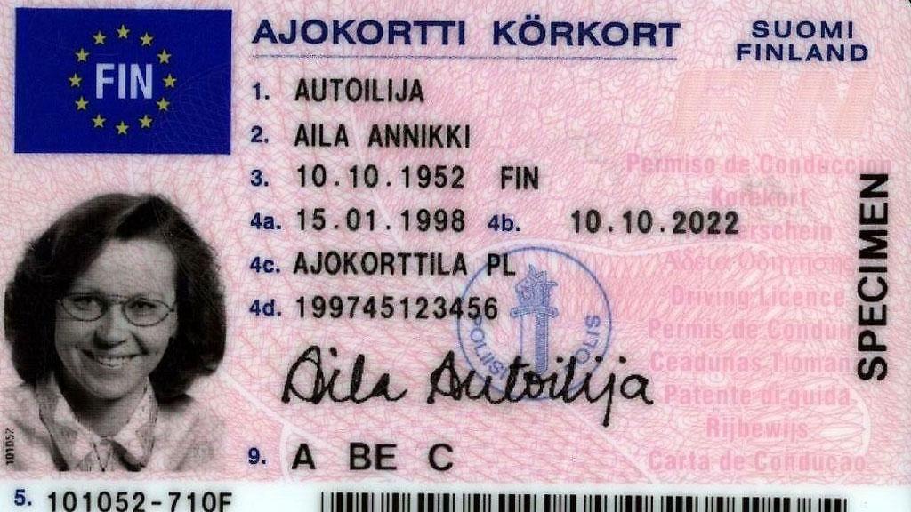 uusi ajokortti