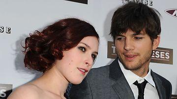 Rumer Moore ja Ashton Kutcher vuonna 2010. Kuva: Getty Images