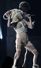 Lady Gaga vuonna 2009 American Music Awardseissa.