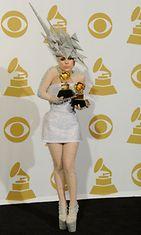 Lady Gaga vuonna 2010
