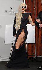 Lady Gaga Emmy-juhlassa 2011.