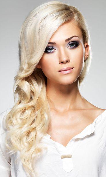 Platinanvaaleat Hiukset