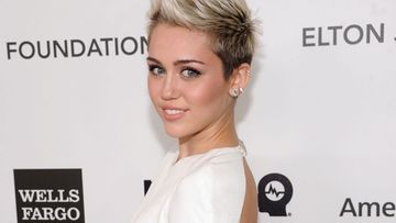 Miley Cyrus helmikuussa 2013.