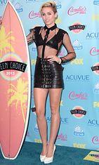 Miley Cyrus elokuussa 2013.