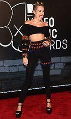 Miley Cyrus MTV VMA -gaalassa 25. elokuuta 2013.