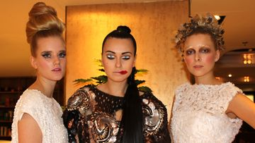 Pretty Scary Hair & Make up Couture Show: Annika Åkerfeldt, Polina Hiekkala, Malla Hyytiäinen
