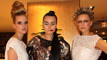 Pretty Scary Hair & Make up Couture Show: Annika Åkerfeldt, Polina Hiekkala, Malla Hyytiäinen