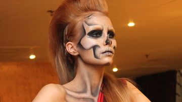 Pretty Scary Hair & Make up Couture Show: Laura Roivainen