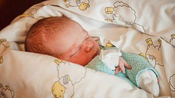 Fahmin perheen pienokainen Luca.