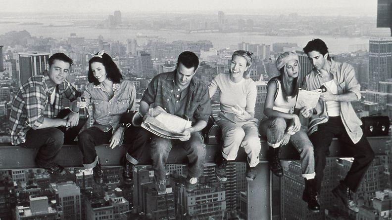 Frendit, 1999. Matthew Perry, Jennifer Aniston, Courteney Cox, Matt Le Blanc, Lisa Kudrow, ja David Schwimmer