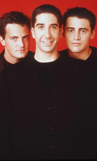 Matthew Perry, David Schwimmer ja Matt LeBlanc. 1996.