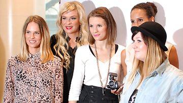 Iholla-naiset MTVn kevään 2013 ohjelmistolanseerauksessa.