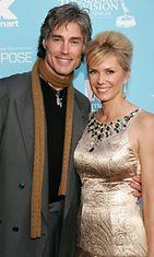 Ronn Moss ja Katherine Kelly Lang heinäkuussa 2007.