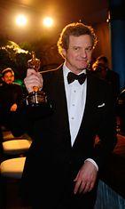 2011 Colin Firth voitti parhaan miespääosan Oscarin