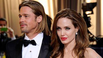 Brad Pitt ja Angelina Jolie lomailivat Ranskassa.