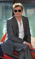 2010 Colin Firth Dubain filmifestivaaleilla
