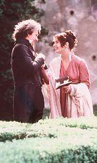 "Gary Oldman ja Isabella Rossellini ""Immortal beloved"" vuonna 1994."