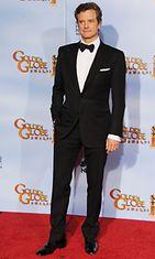 2012 Colin Firth Golden Globe -gaalassa