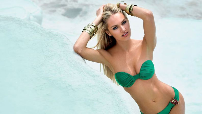Kesän 2013 uimapukumuotia esittelee Candice Swanepoel