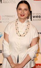Webby Awardseissa Rossellinilla nähtiin valkoista.