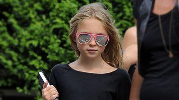 Kate Mossin tytär Lila on vaatehullu.
