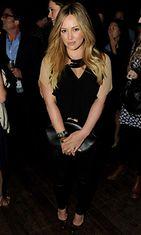 Hilary Duff säteili luonnollisessa lookissa.