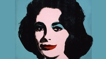 Andy Warholin teos Elizabeth Taylorista vuodelta 1963. Teoksen nimi on 'Liz #5' .