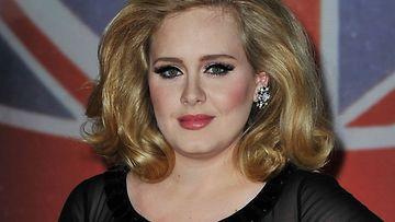 Adele oli ennen raskauttaan viimeisen kerran näkyvästi julkisuudessa helmikuussa 2012.