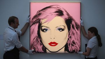 Andy Warholin teos Debbie Harry.