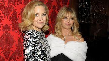 Kate Hudson ja Goldie Hawn vuonna 2009
