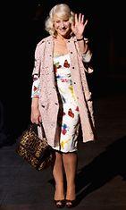 Helen Mirren Milanon muotiviikoilla 2012.