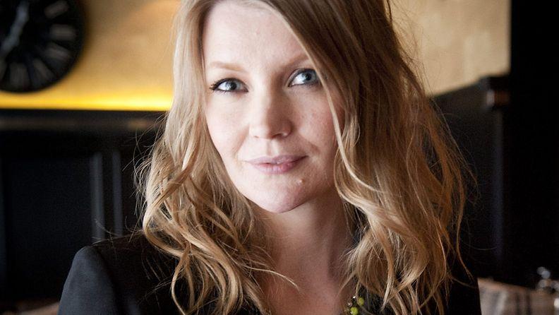 Kansainvälisen tv-formaatin Top Chef -ohjelman kolmannen kauden uudet kilpailijat julkistettiin Helsingissä tiistaina 4. joulukuuta 2012, kuvassa juontaja Pipsa Hurmerinta.