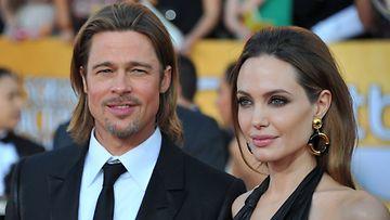 Tammikuu 2012: Brad Pitt ja Angelina Jolie