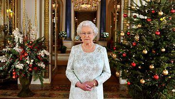 Kuningatar Elisabetin joulutervehdys.