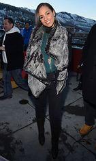 Alicia Keys Utahissa, Yhdysvalloissa 18.1.2013.