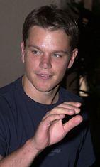 Matt Damon heinäkuussa 2001.