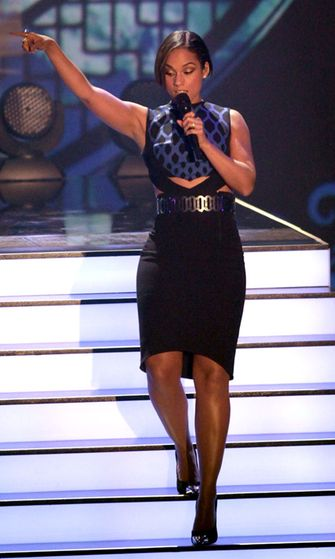 Alicia Keys esiintyi Breisgaussa, Saksassa 8.12.2012.