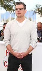 Matt Damon toukokuussa 2013.